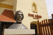 Szent László szobor Küküllőkeményfalva