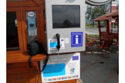 Turisztikai touch-screenes infóterminál Farkaslaka, Szolgáltatások Farkaslaka