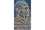 Haszmann Pál emlékét őrző dombormű