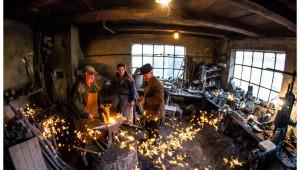 Fierarul potcoavei norocoase din Ojdula - vizită atelier artizanal