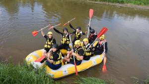 Rafting pe Olt