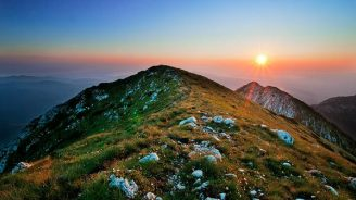 Mountain peak Romania