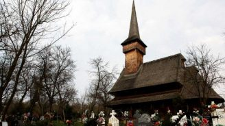 Wooden church Romania