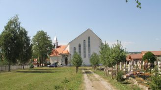 Roman catholic church Mihaileni