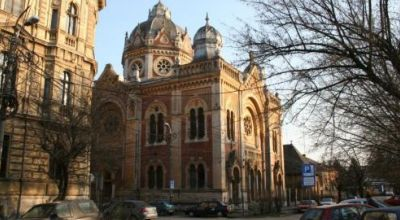 The Synagogue from Fabric Timisoara
