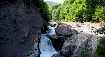 Putna waterfall Lepsa