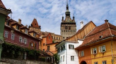 The Sighisoara castle Sighisoara