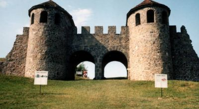 The Porolissum castle Zalau
