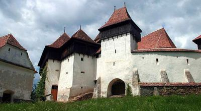 The Viscri castle Bunesti