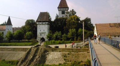 Fortified Church from  Agnita Agnita