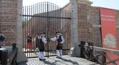 The 6th gate of the Fortress Alba Iulia