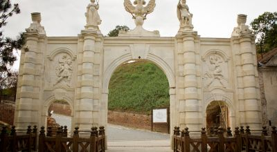 The 1st gate of the Fortress Alba Iulia