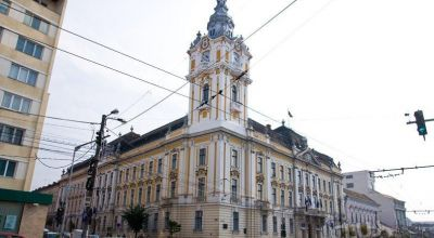 Palace Of The City Hall Cluj-Napoca