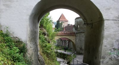 The Canal and Graft Bastion Brasov