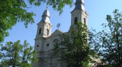 The Baroque Church from Sumuleu Ciuc Sumuleu
