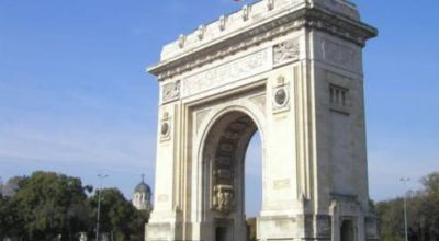 The Arch of Triumph Bucharest