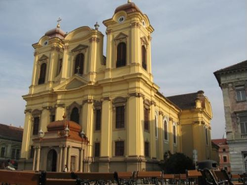 The Roman-Catholic Dome Timisoara