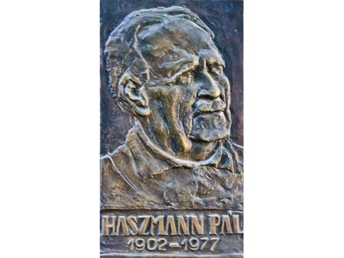 Commemorative Plaque Haszmann Pal Cernat
