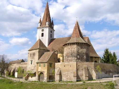 Fortified Church From Cisnădie Cisnadie