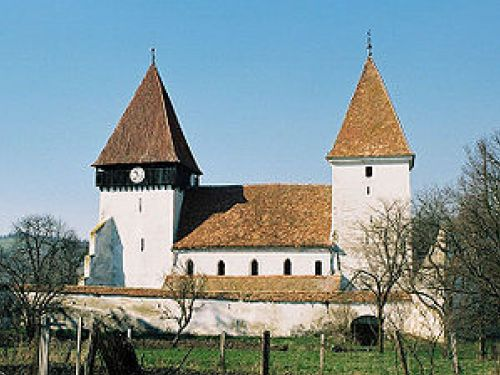 Fortified Church From Merghindeal Agnita