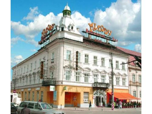 Building Of Melody Hotel Cluj-Napoca