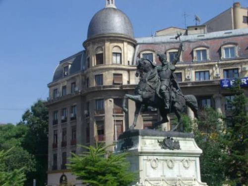 The Equestrian Statue Of Michael The Brave Bucharest