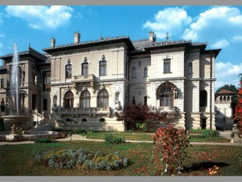 Das Nationalmuseum Cotroceni Bukarest